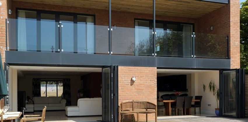 Aluminium And Hardwood Bifold Doors Folding Doors 2 U